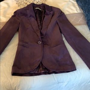 Beautiful plum color jacket, made in Europe